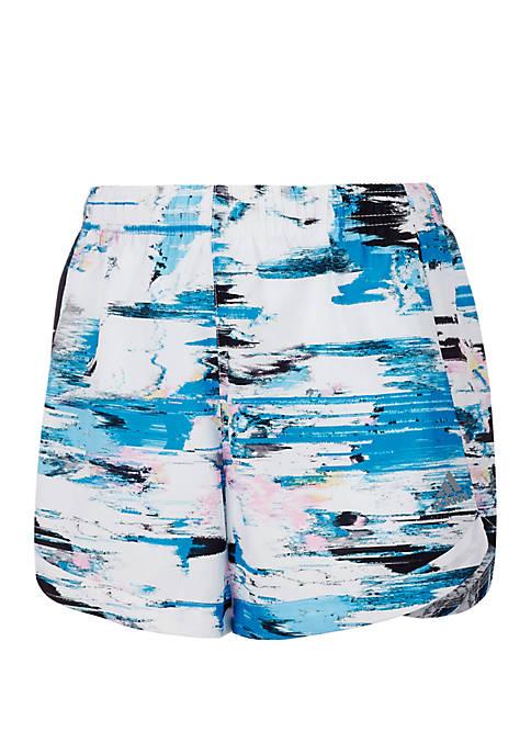 adidas Girls 7-16 Printed Training Shorts