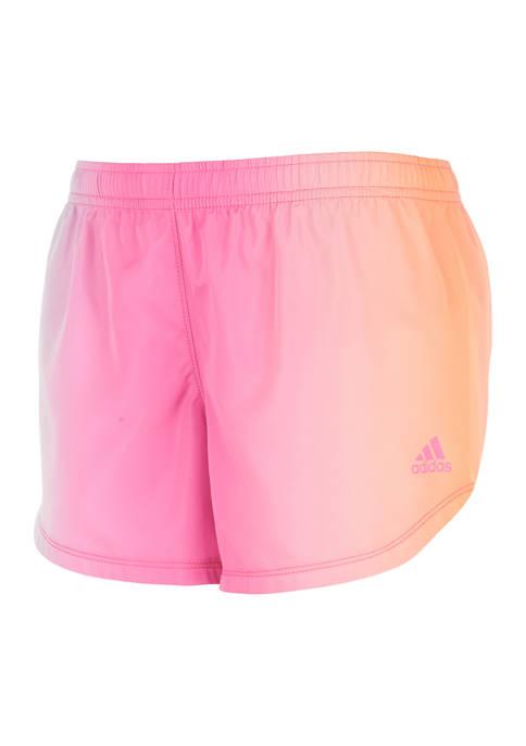 adidas Girls 7-16 Ombré Woven Shorts