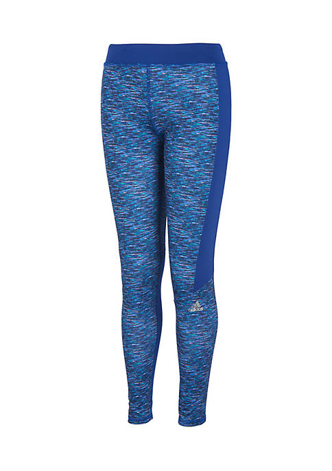 adidas Girls 7-16 Spacedye Leggings