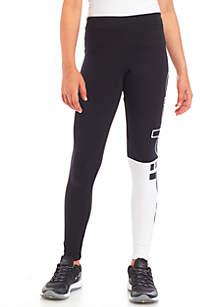 adidas Girls 7-16 Linear Color Block Leggings