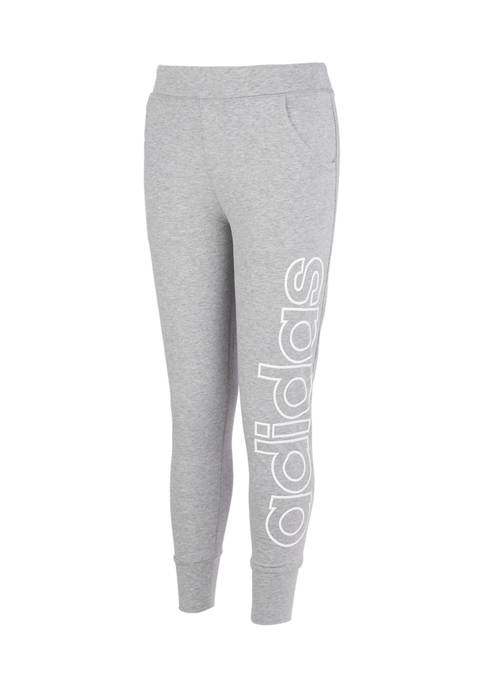 adidas Girls 7-16 Linear Read Joggers