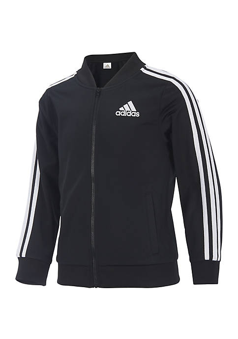 adidas Girls 7-16 Tricot Bomber Jacket