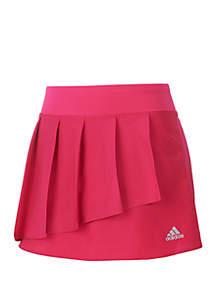 adidas Girls 7-16 Pleated Skort