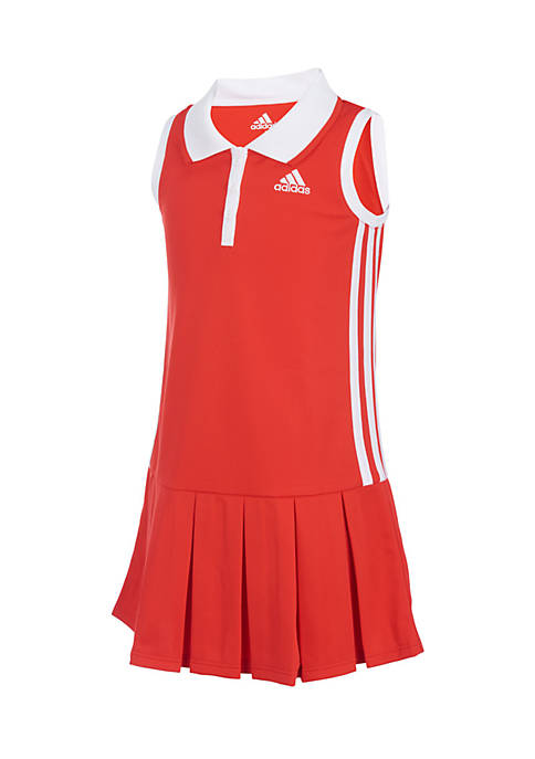 adidas Girl 2-6x Twirl Polo Dress