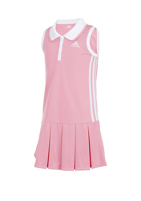 adidas Toddler Girls Sleeveless Polo Dress
