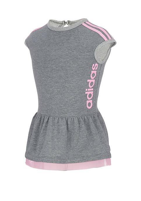 adidas Girls 2-6x Short Sleeve Athletics Dress