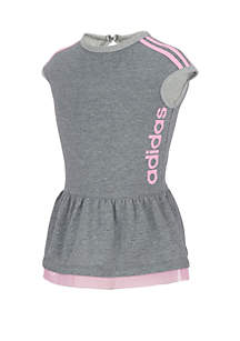 adidas Girls 2-6x Short Sleeve Athletics Dress