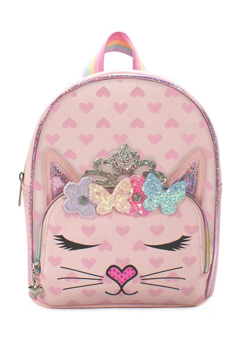Girls Bella Flower Crown Mini Backpack