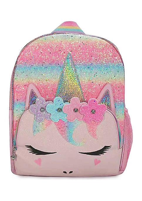 Girls Miss Gwen Flower Crown Large Backpack