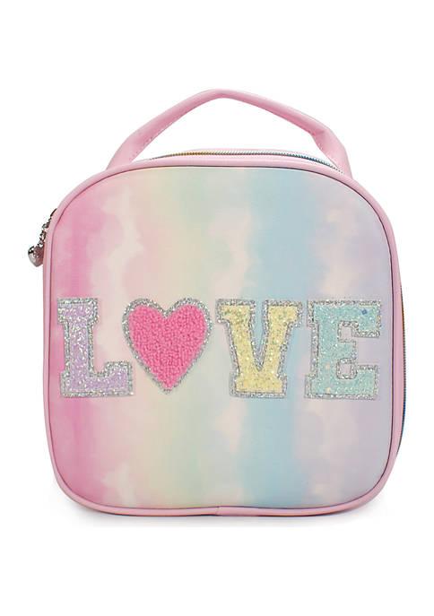 Girls Love Tie Dye Lunch Bag