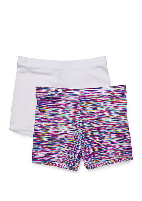 Maidenform® Girls 7-16 Mini Shorts Set