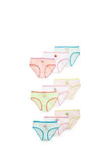 9-Pack Brief Underwear Girls 4-16