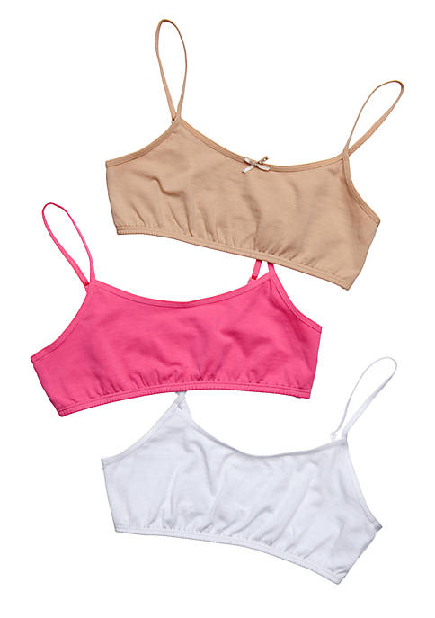 Maidenform® 3-Pack Value Crop Bras