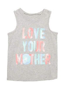 Girls 4-8 Graphic Tank Top
