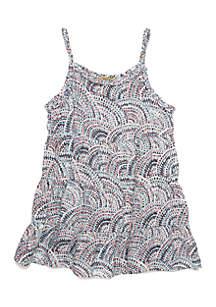 Girls 4-8 Braided Woven Dress