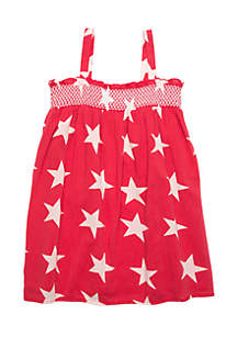 Girls 4-8 Smocked Dress