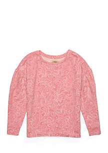 Girls 4-8 Printed Pullover