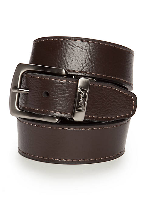 Levi's® Reversible Solid Belt With Logo Boys 8-20