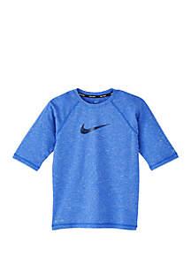 Nike® Boys 8-20 Half Sleeve Hydroguard Swim Shirt