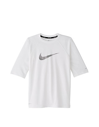 76b6133d Nike® Boys 8-20 Mash Up Half Sleeve Hydroguard Swim Shirt | belk