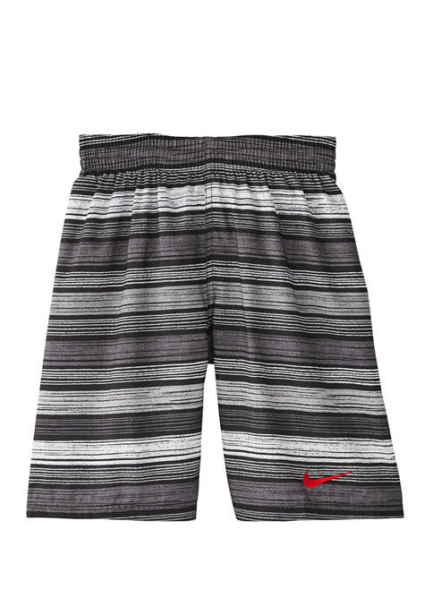Nike® Boys 8-20 Stripe Breaker Volley Swim Trunks