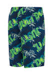 Boys 8-20 8-Inch Tropic Packable Volley Swim Shorts