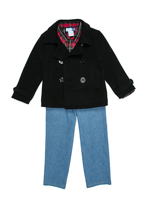Good Lad Boys 4-7 Coat and Pants Set