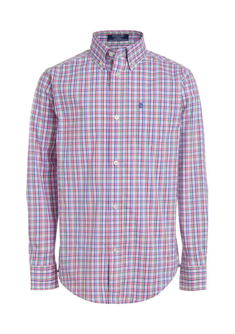 IZOD Boys 8-20 Long Sleeve Dress Shirt