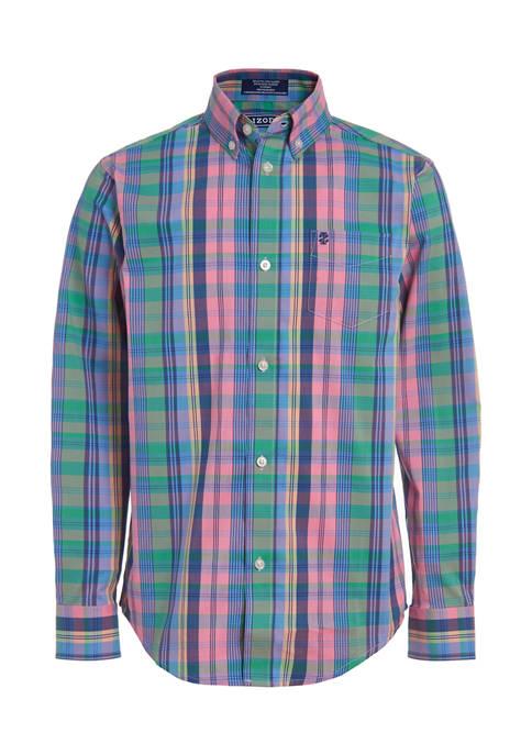 Boys 8-20 Long Sleeve Dress Shirt