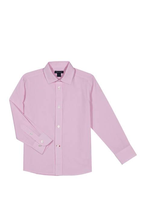 Boys 8-20 Cross Gingham Shirt
