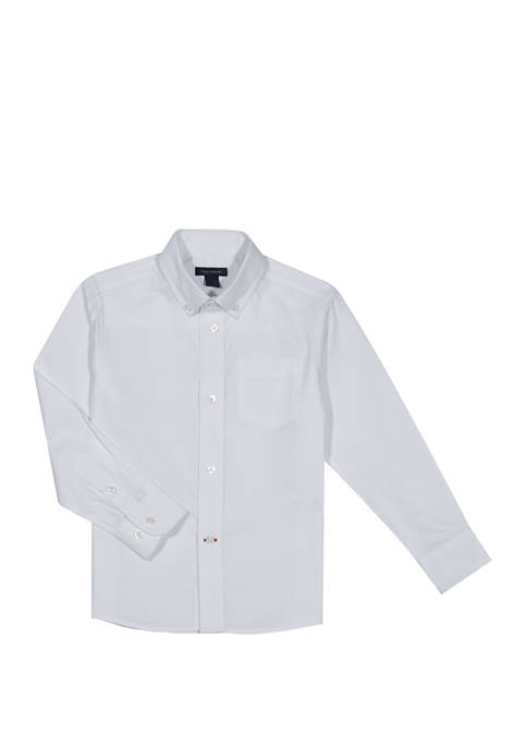 Boys 8-20 Pinpoint Oxford Shirt