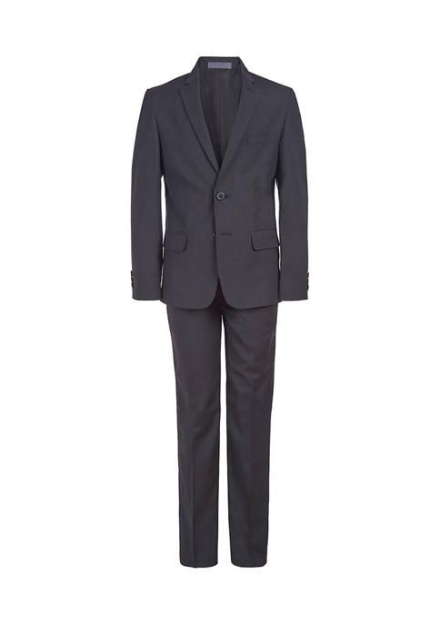 Boys 8-20 Mini Stripe Suit