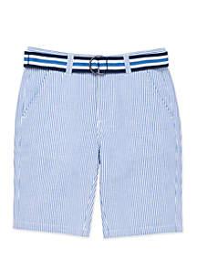 IZOD Boys 4-7 Seersucker Shorts