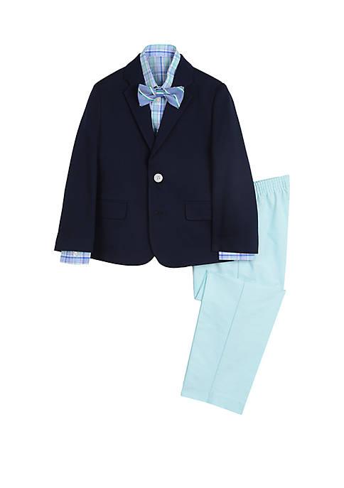 IZOD Boys 4-7 Woven Pique Suit Set