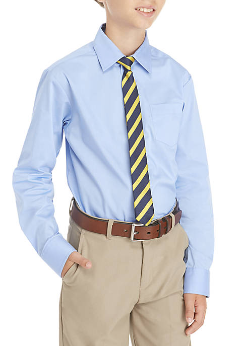 IZOD Boys 8-20 2-Piece Button Front and Tie