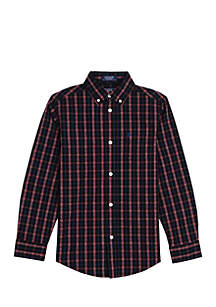 Boys 8-20 Stony Creek Stretch Woven Shirt