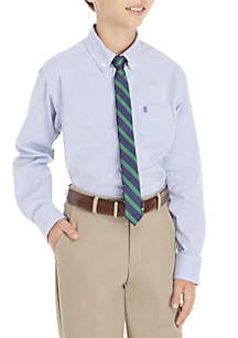 IZOD Boys 8-20 2-Piece Stripe Button Down and Tie Set
