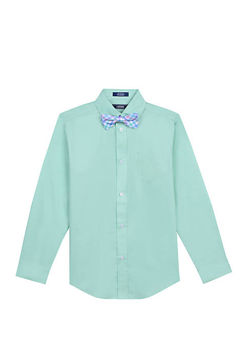 Boys 8-20 Hanging Shirt With Bow Tie