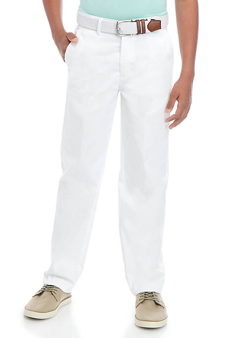 Boys 8-20 Stretch Twill Pants