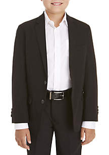 IZOD Boys 8-20 Basic Stretch Black Suit Separate Jacket