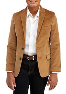 Boys 8-20 Corduroy Stretch Jacket