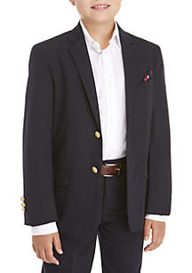 Boys 8-20 Basic Stretch Husky Blazer