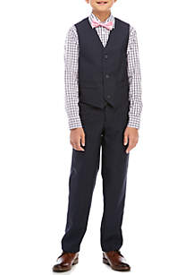 IZOD Boys 8-20 Shadow Check Vest Set