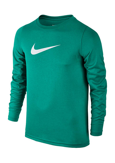 Nike® Boys 8-20 Long Sleeve Legend Tee
