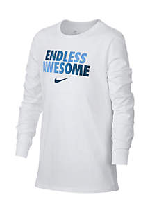 Boys 8-20 Endless Awesome Long Sleeve Tee