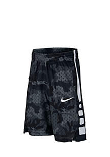 Boys 8-20 Elite Printed Basketball Shorts