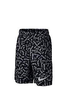 Boys' 8-20 Dry Printed Training Shorts