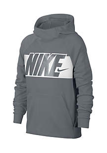 Boys' Graphic Training Pullover Hoodie