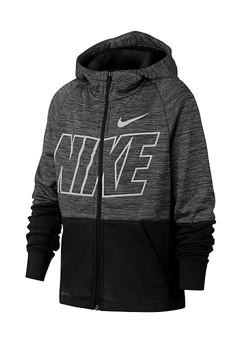 Nike® Boys 8-20 Thermal Coloblock Full Zip Jacket