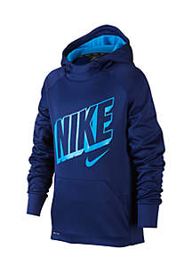 Boys 8-20 Therma Graphic Training Pullover Versatile Hoodie